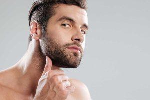 tratamiento facial hombre