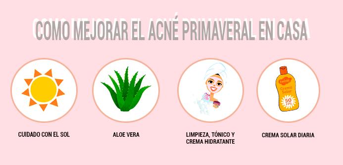 solución acne primaveral